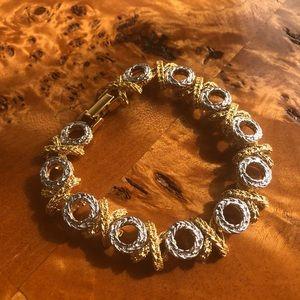 Vintage xoxoxo bracelet.